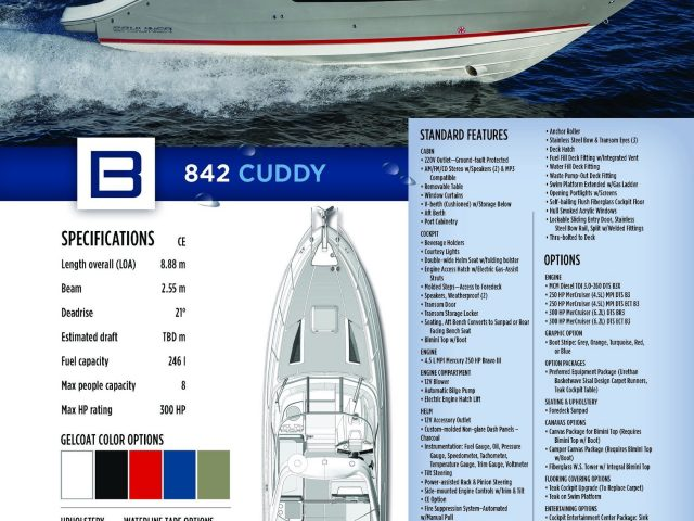 BAYLINER 842 CUDDY NO.17