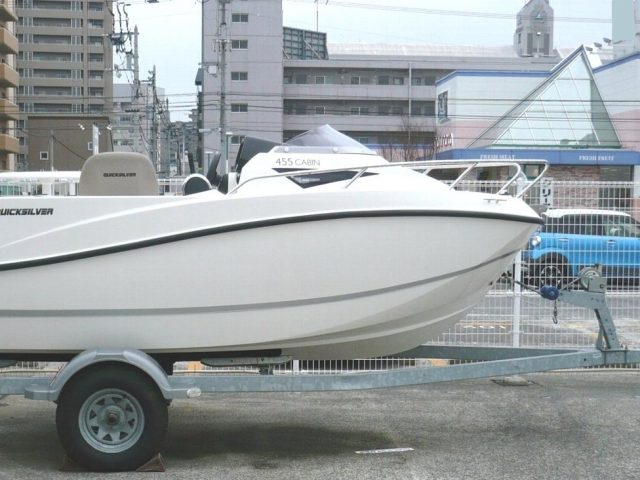 QUICKSILVER 455 Cabin / ヤマハF60F-4st