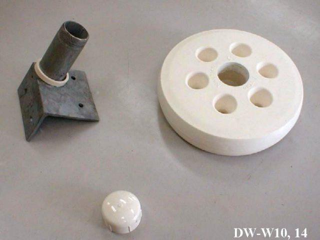 ドッグホイール(白)10' (米国製) DW-W10(在庫限り)